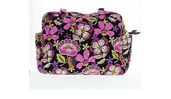 Amazon.com   Vera Bradley Baby Bag (Pirouette Pink with Solid Black  Interior)   Baby f630b9d518b99