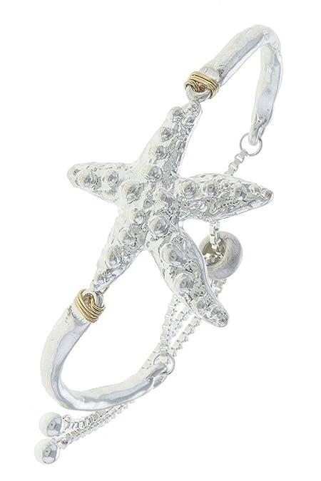 6d7d85742424 La joya de estrella de mar Encanto Pulsera Slider  The Jewel Rack   Amazon.es  Joyería