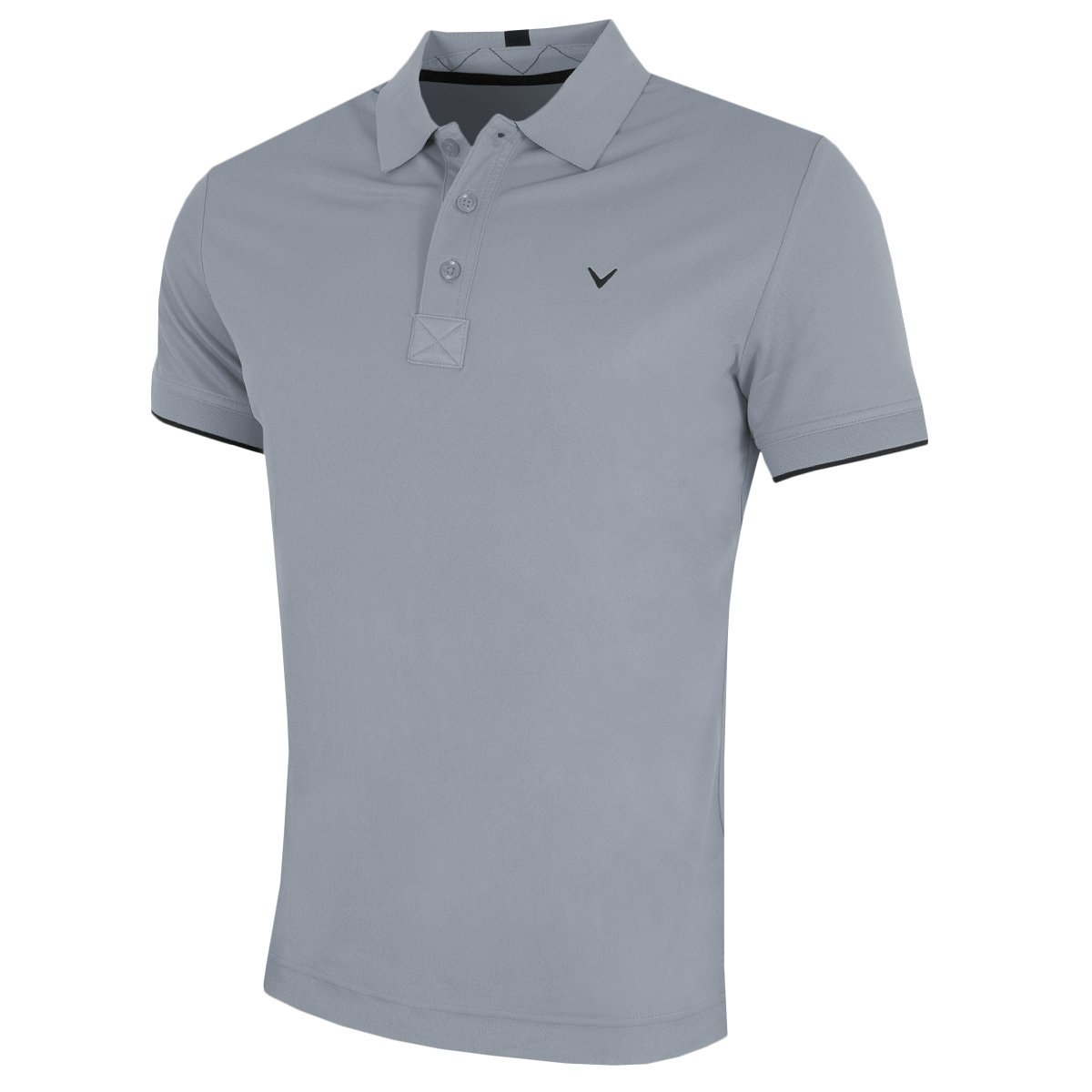 Callaway Golf 2018 Hommes Opti-Dri X Polo à pointe contrastée Irish Green XXL