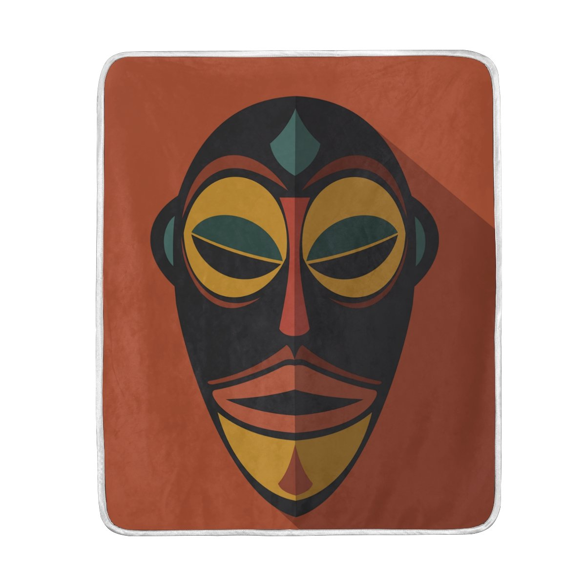 Amazon.com: African Art Tribal Print Throw Blankets ...