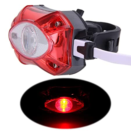 ENticerowts luz Trasera para Bicicleta MTB, Impermeable, Ajustable ...