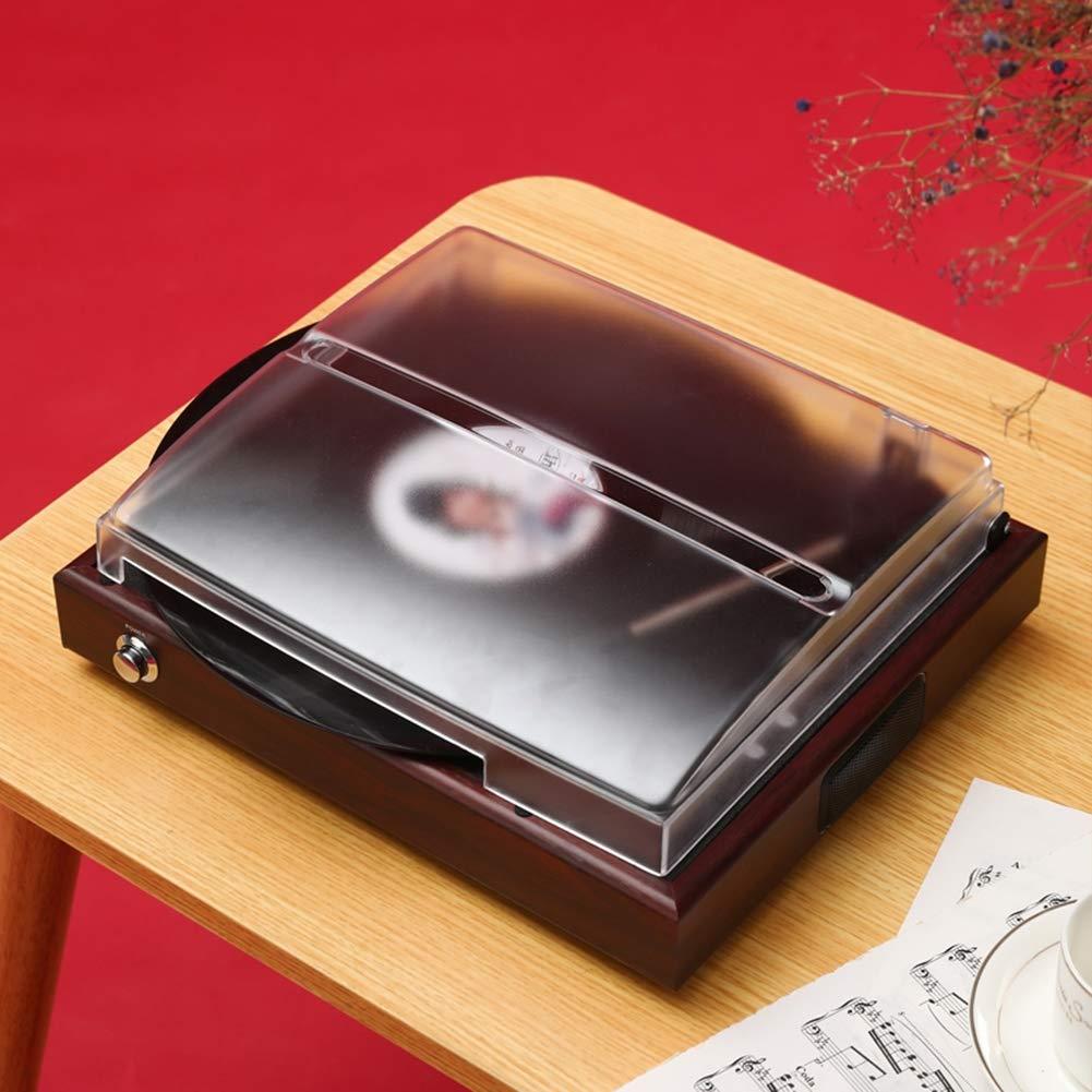 XIOUTEW Tocadiscos USB portátil, impulsado por Correa Estilo Disco ...