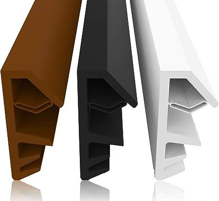 couleurs harmonieuses belles chaussures nouvelle qualité Joint de fenêtre Largeur de gorge 4mm Hauteur de pliage 12 ...