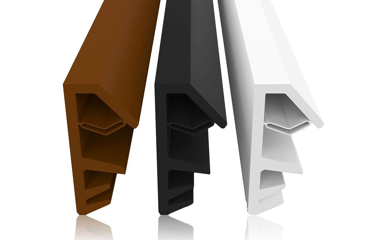 Joint de fen/être Largeur de gorge 4mm Hauteur de pliage 12 mm Le joint de fen/être en bois permet de r/éduire les co/ûts de chauffage Joint de porte