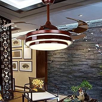 Stealth Fan Lampe Im Chinesischen Stil Wohnzimmer Schlafzimmer  Deckenventilator Licht Haushalt Elektrolüfter Mit Ventilator Kronleuchter