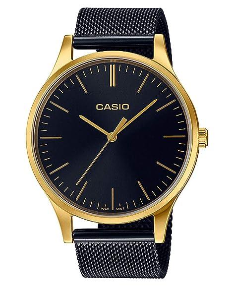 Casio Femmes Analogique Quartz Montre avec Bracelet en Acier Inoxydable LTP-E140GB-1AEF: Amazon.fr: Montres