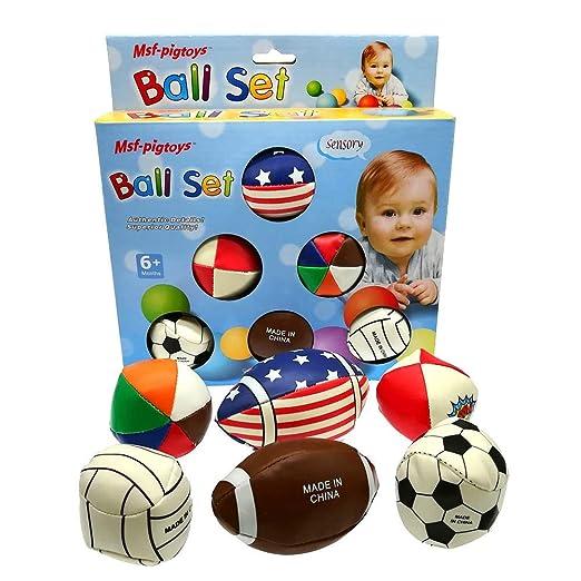 Fishyu 6 Piezas Bebé Balón Texturierte Multi Balón Set Entwickeln ...