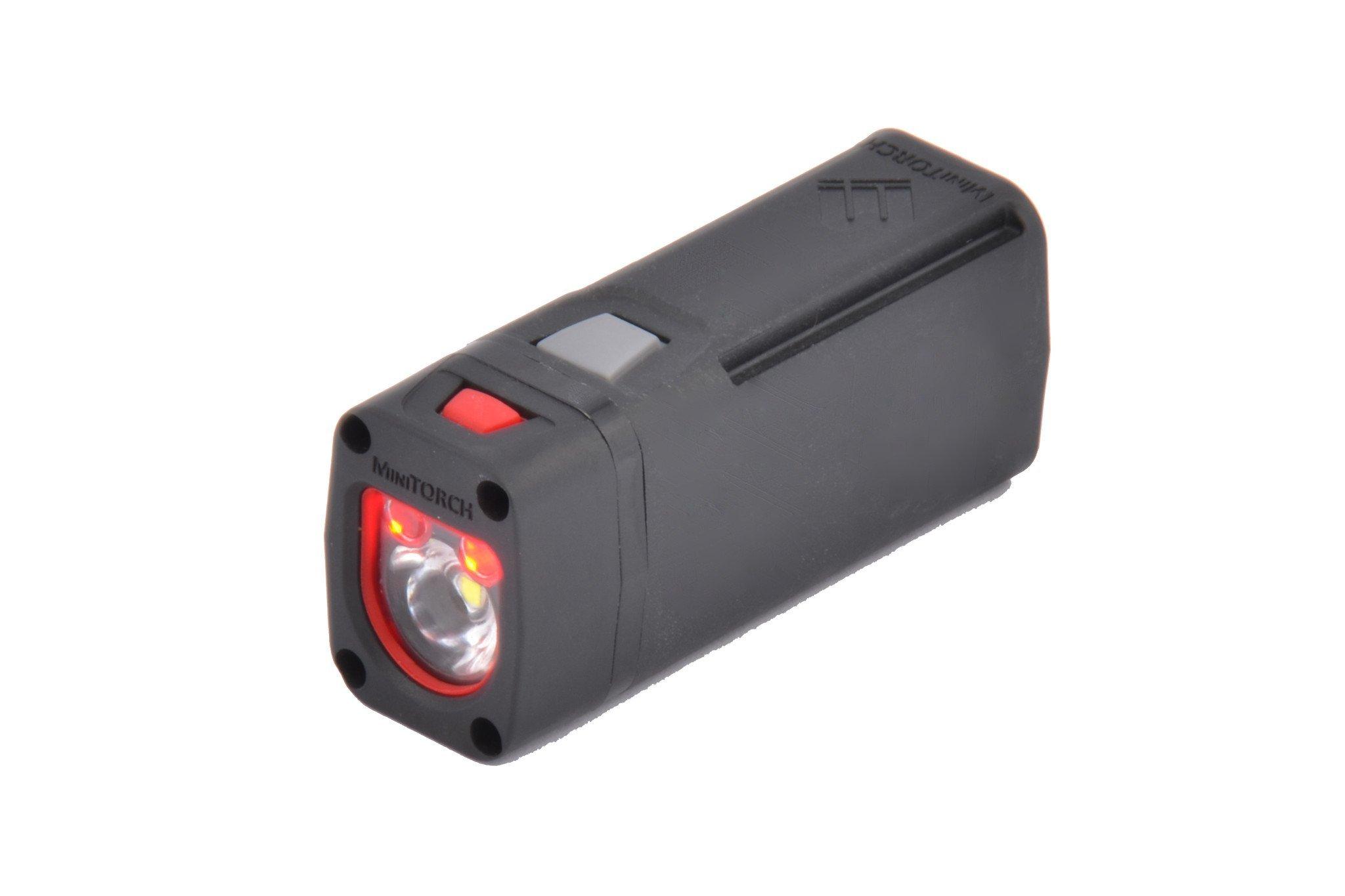 MagnetoSpeed M-Series MiniLIGHT Module with Picatinny Rail Adapter, Black