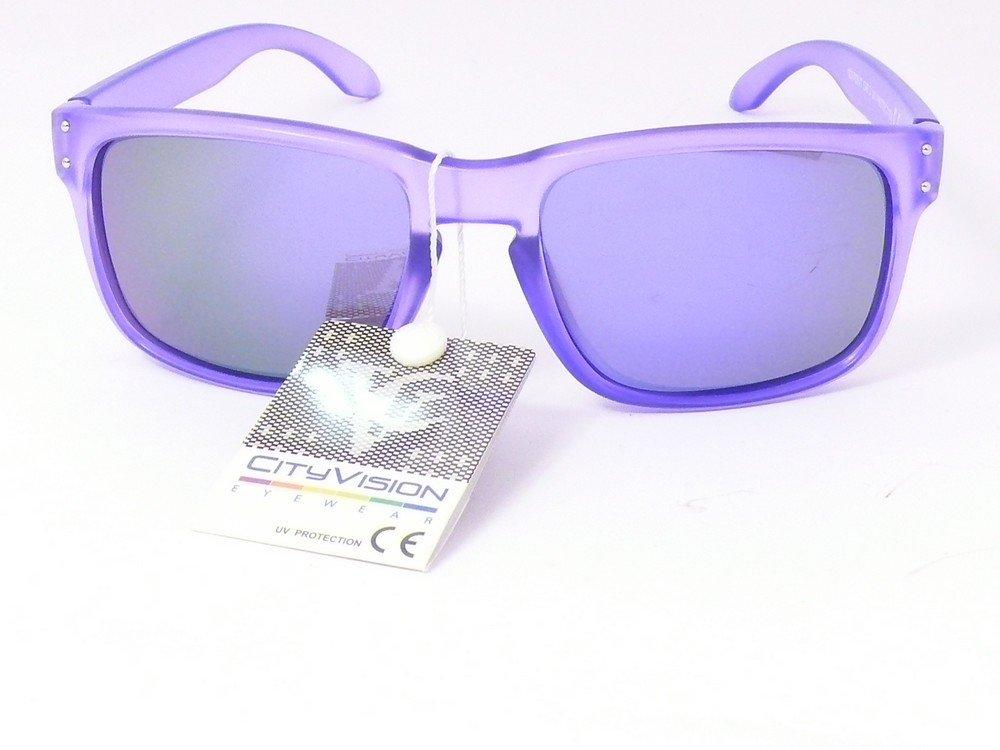 lunettes de soleil mixte homme femme mode tendance 023753vt (monture violet  verres revo violet, 56cb69d21047