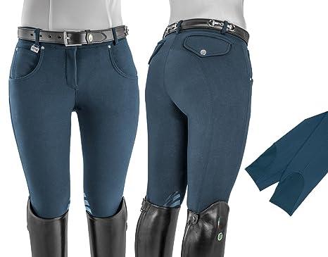 ed412d8217 Umbria Equitazione EQUESTRO Pantaloni Donna Tessuto Tecnico Terra ...