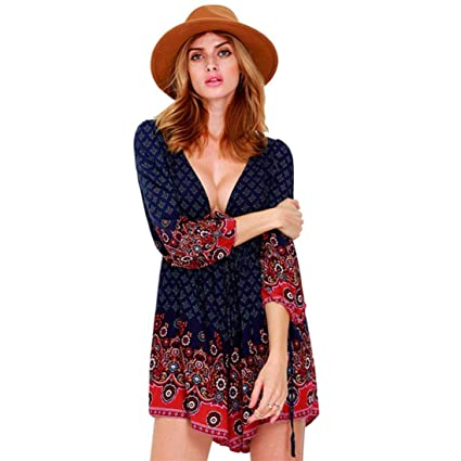 Mujeres Pijama Suelto Bodycon Vestido de Mono