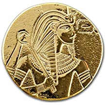 2017 Republic of Chad 1 oz Gold King Tut 1 OZ Brilliant Uncirculated