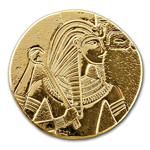 2017 Republic of Chad 1 oz Gold King Tut 1 OZ Brilliant (Egyptian Coin)