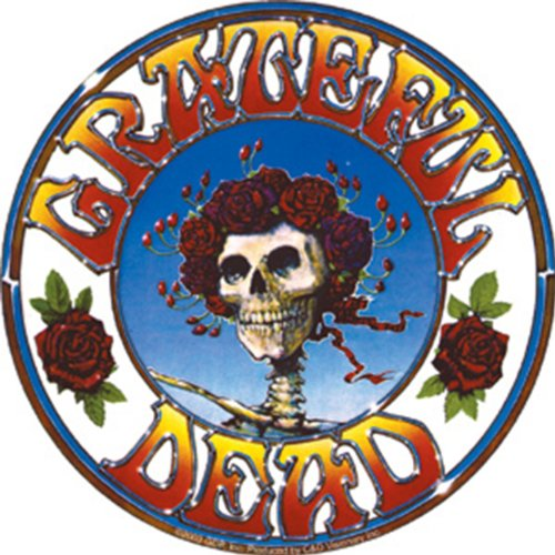 - Licenses Products Grateful Dead Skull and Roses Sticker