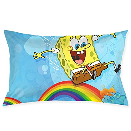 Swell Amazon Com Pillow Cases Spongebob Squarepants Throw Cushion Gmtry Best Dining Table And Chair Ideas Images Gmtryco