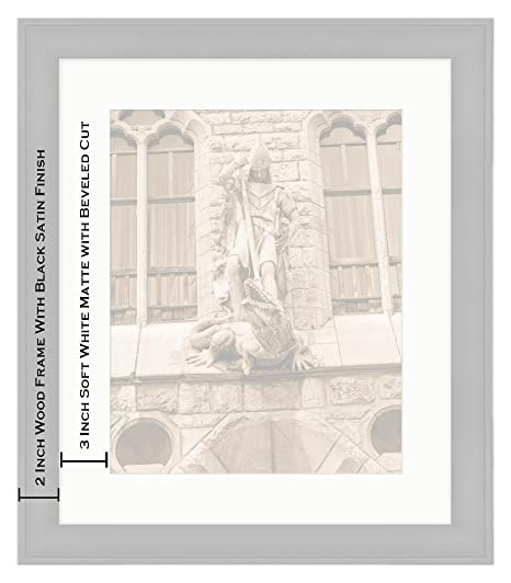 Amazon.com: Ashley Framed Prints Botines Palace in Leon Castilla Y Leon, Wall Art Home Decoration, Sepia, 30x26 (Frame Size), Black Frame, ...