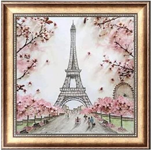 DIY 5D Diamond Embroidery Painting Full Drill Eiffel Tower Craft Home Decor Art