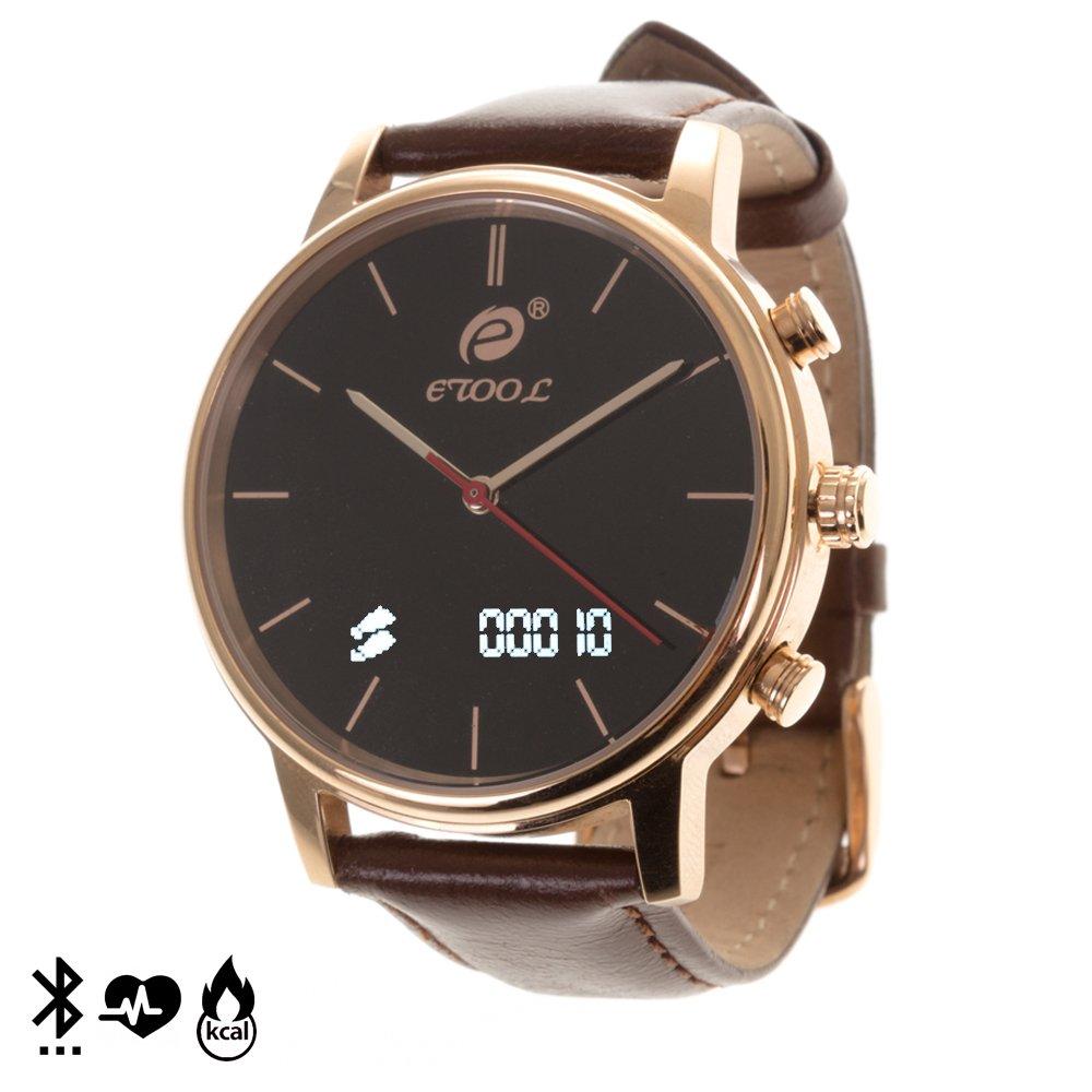 DAM - Smartwatch E-Tool Quarz Gold. Diseño de Reloj de ...