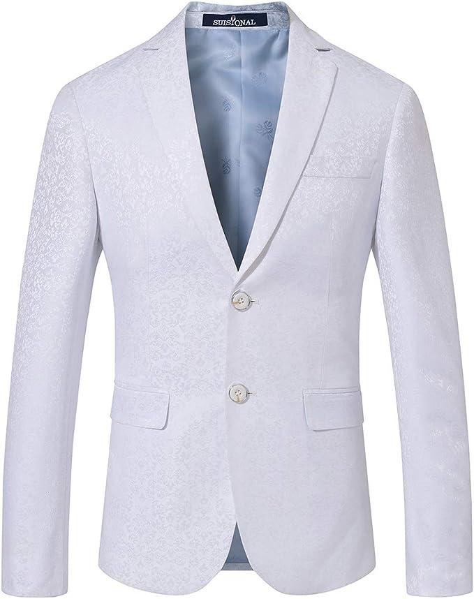 SuiSional Men's Luxury Dress Slim Fit Tuxedo