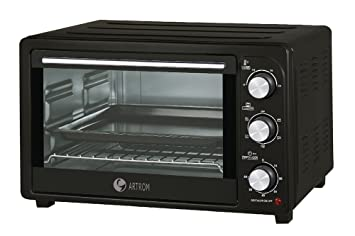 Artrom TO-26YLC - Mini horno, color negro
