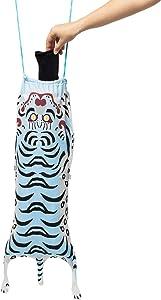 DOIY Tiger Travel Laundry Bag (Light Blue)