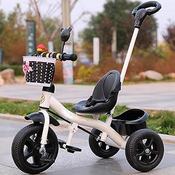 Dreirad Kinderdreirad Tricycle Trike 3 Räder Fahrrad klappbar mit Schubstange
