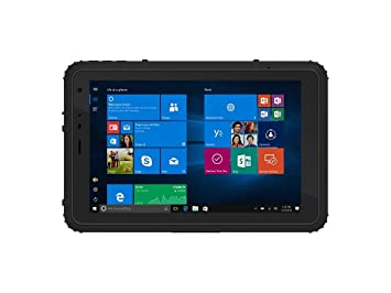 Vanquisher 8 Inch Ultra Rugged Tablet PC (2nd Gen), Windows 10 /