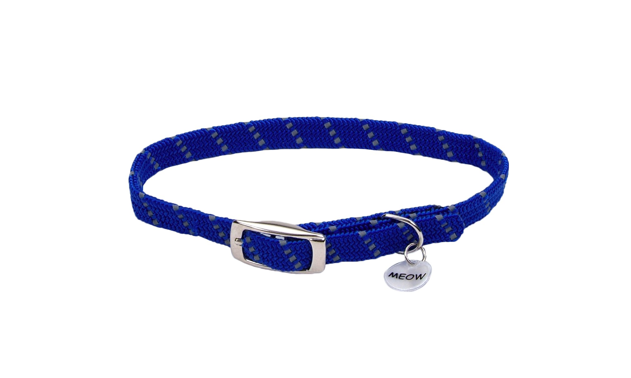 Coastal Pet Products ElastaCat Pet Collar Blue