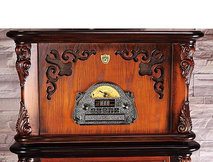 RAPLANC Tocadiscos Retro Tocadiscos Bluetooth Reproductor de ...