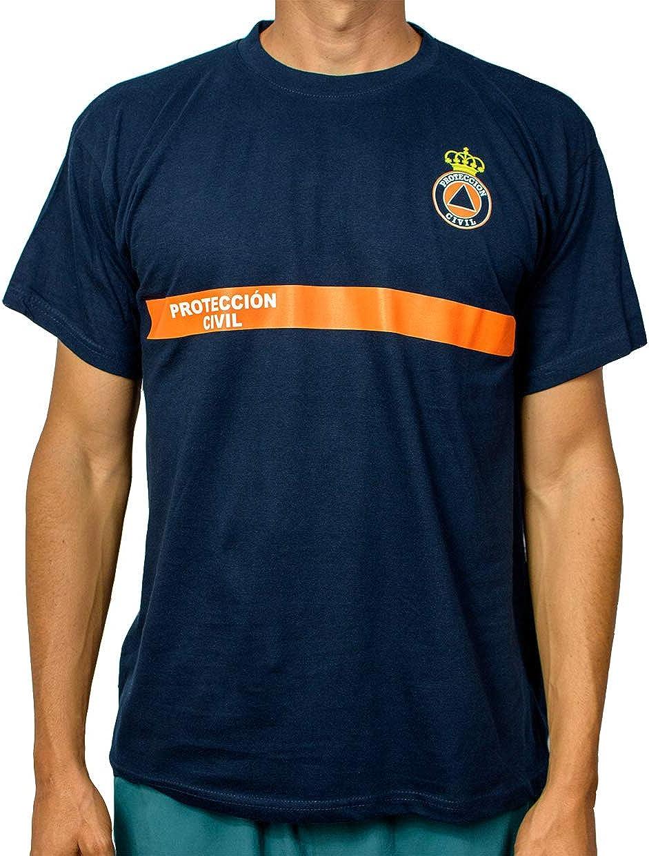 Alpimara Camiseta Protección Civil: Amazon.es: Ropa y accesorios