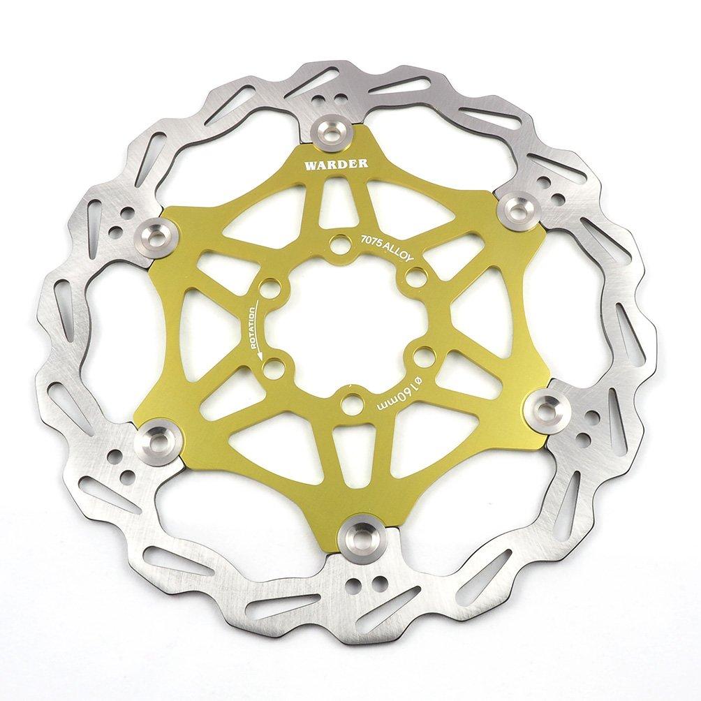 Hayes Shimano uvm Magura Mountainbike Bremsscheibe 160mm 180mm 203mm Fahrrad Bremsscheibe MTB schwimmende Scheibe 6-Loch kompatibel mit Avid Tektro