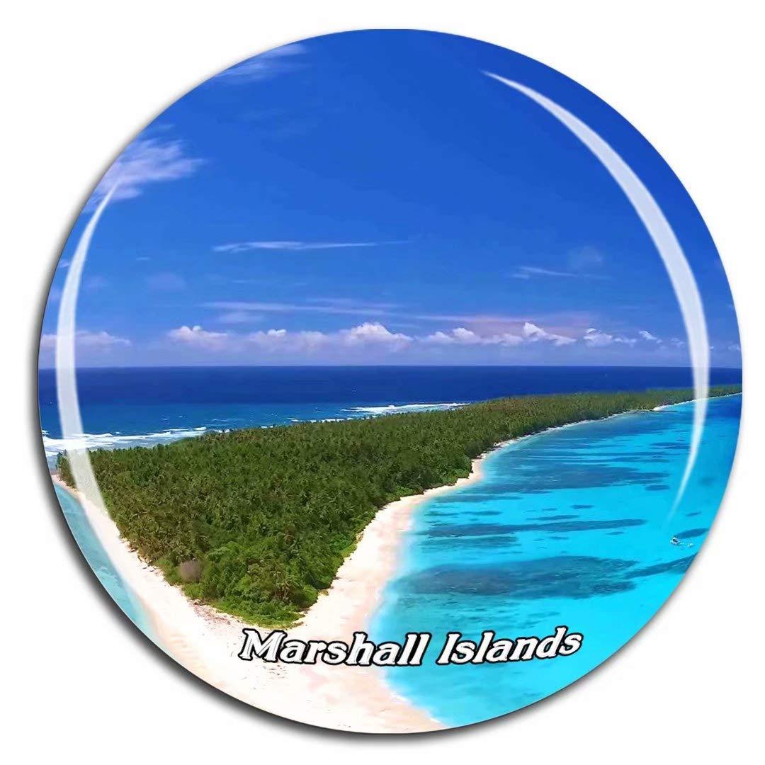 Weekino Islas Marshall Imán de Nevera 3D de Cristal de Turismo de ...