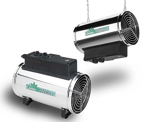 5 opinioni per Bio Green riscaldatore elettrico a ventola Phoenix, argento/ nero