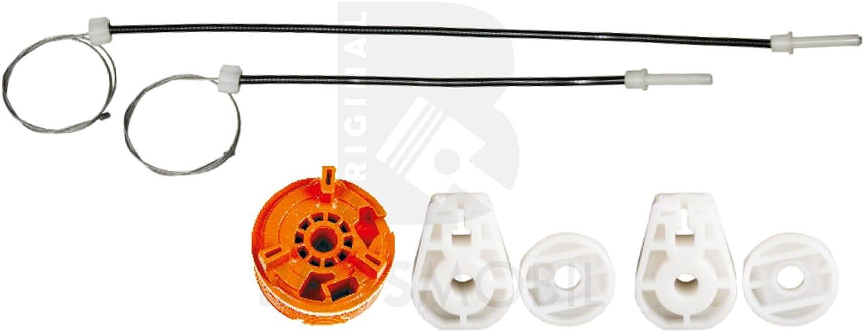 Bossmobil MEGANE II 2 Coupé-Cabriolet (EM0/1_), Trasero izquierdo, kit de reparación de elevalunas eléctricos