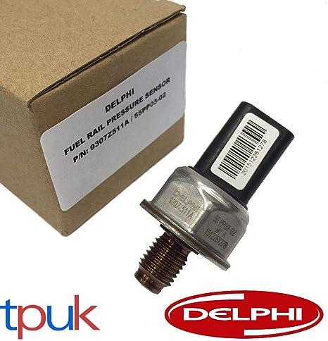 Se adapta a ALMERA MK2 MICRA 1.5 dCi DELPHI FUEL RAIL PRESSURE SENSOR 55PP03-02