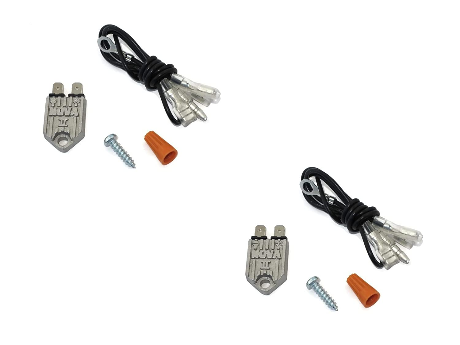 The ROP Shop (2) New NOVA II Electronic Transistorized Ignition Modules/Igniter Assembly