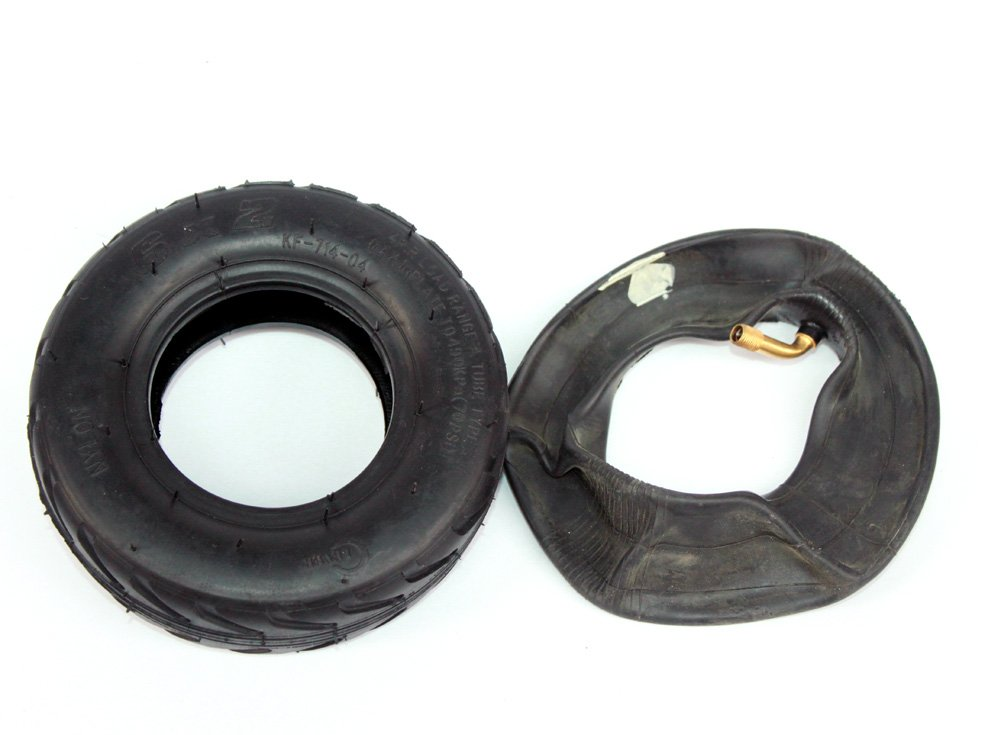 Rueda 6x2 eléctrica de la rueda de la vespa de 6 pulgadas con neumático del aire o eje sólido del metal del neumático con 608 transportes Rueda 8m m ...