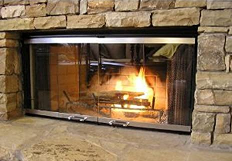 Buy Fireplace Doors For Majestic Fireplace: Glassware & Drinkware - Amazon.com ? FREE DELIVERY possible on eligible purchases