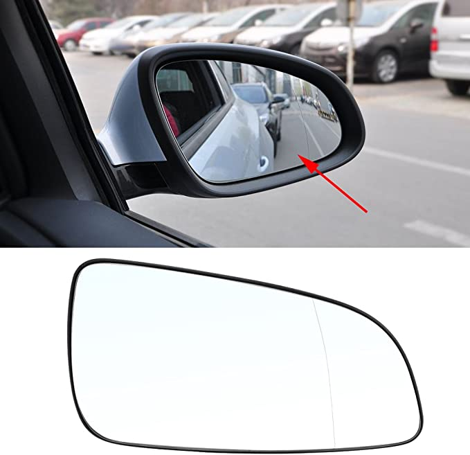 Wing Mirror Glass For BMW X3 E83 2003-2010 Right Driver Side