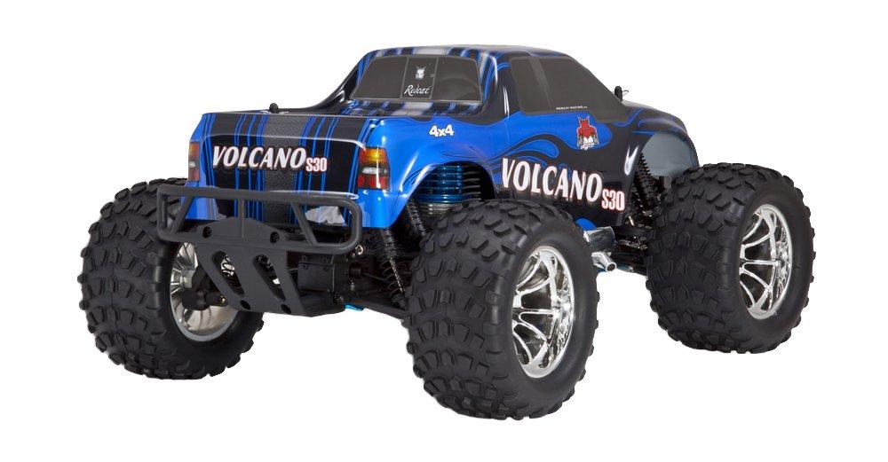 Blue//Silver Volcano S30 Nitro Truck