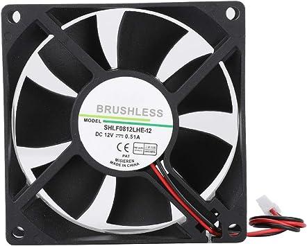 Refrigerador de la caja de la computadora, ventilador de ...