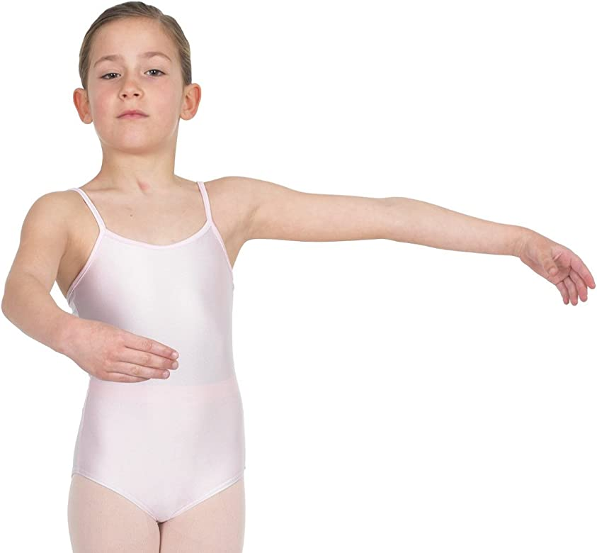 Happy Dance 1006 - Maillot de Ballet para niñas, Color Rosa, Talla ...