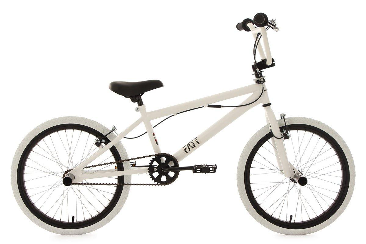 KS Cycling Fatt BMX Freestyle Bike, Unisex, Fahrrad BMX Freestyle Fatt black EU 20 603B
