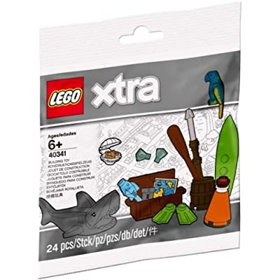 LEGO at The Beach Activities Accessories polybag (Extra) 40341: Toys & Games