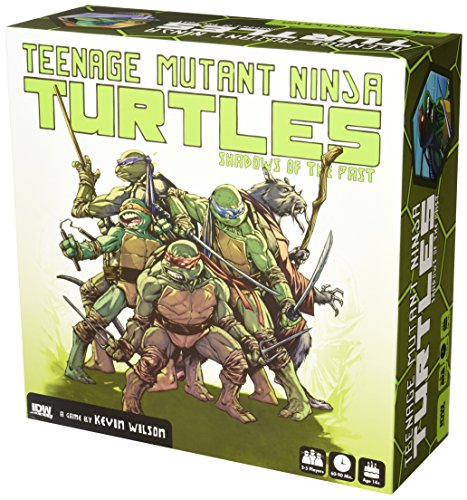 Teenage Mutant Ninja Turtles Video Games (IDW Games Teenage Mutant Ninja Turtles: Shadows of The Past Board Game)