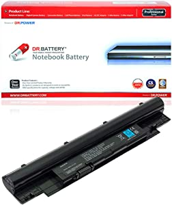 DR. BATTERY Dell Inspiron 13Z (N311z) 14Z (N411Z) Battery Compatible with Dell Latitude 3330 Vostro V131 H7XW1 H2XW1 N2DN5 D41Y 268X5 312-1258 451-11845 312-1257[11.1V/4400mAh/49Wh]
