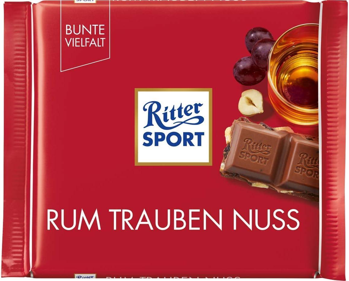 Ritter Sport Ron Uva Nuez 100g: Amazon.es: Alimentación y bebidas