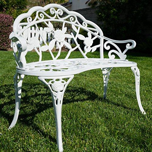 Cast Iron Antique Rose Style Design Outdoor Patio Garden