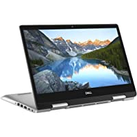 "Dell Inspiron 14-5482 Ultrabook tactile convertible 14"" Full HD Argent (Intel Core i5, 8Go de RAM, SSD 256Go, UMA, Windows 10 Home) Clavier AZERTY Français"
