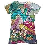 Dragon Tales Mushroom Meadow Juniors Sublimation Shirt